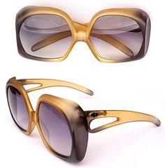 ba919bfbab3e Rare - Vintage Sunglasses - Christian Dior 2005 - NEW - Oversized Sunglasses  - Germany 70s - Optyl Frames Women Sunglasses Vintage Eyewear