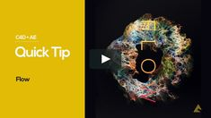 "Here is a third quick tip on how to achieve the look of my personal project entitled ""Flow"" : http://nidiadias.com/portfolio/work/flow/ Music: Moby…"