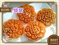 Its my beehive cookies for lunar new year.