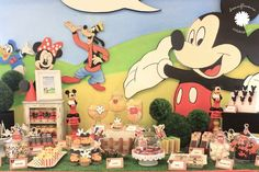 """Photo 1 of 16: Mickey goes picnic / Birthday """"Russel 1st Birthday Party""""   Catch My Party"""
