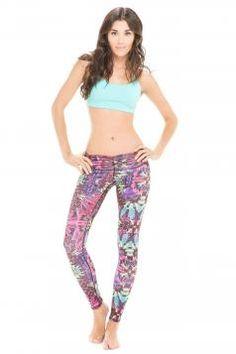 Fashion Running Tights by Body Language Sportswear  - $78