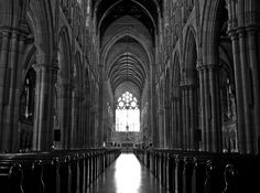 Gothic cathedral..