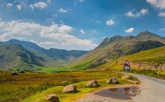 Great Langdale in the Lake District, England