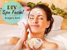 Bio~ Active Formulas { Professional DIY Skincare }: Spa Facial DIY Enzyme Peel
