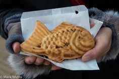 Taiyaki (鯛焼き) - Fish snack