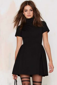 Nasty Gal Back Into It Cutout Dress - Newly Added | Fit-n-Flare | LBD | Dresses | Dresses