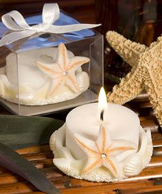35 best beach wedding favours images on pinterest beach wedding beach starfish candle wedding favour gift table decoration accessories ebay junglespirit Choice Image