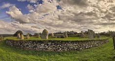 """Easter Aquhorthies"" recumbent stone circle near Inverurie, Aberdeenshire, Scotland"