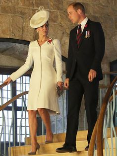 The Duke - wearing a poppy and his medals - told the crowd: 'With the sounding of this bug...