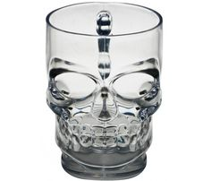 Skull Stein Beer Mugs - Perfect Man Cave Mug! Hubby would love these.