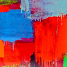 Abstract painting by Yvonne Duval