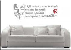 adesivi murali frasi v per vendetta