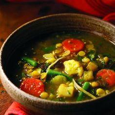 Ginger, Split Pea & Vegetable Curry (Subzi dalcha) - EatingWell.com