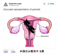 """And this tweet, which all of the women from Harry Potter can relate to: 