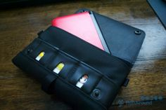 """Nintendo 3DS XL CitySlicker from WaterField Designs - reviewed by Roger at RunAroundTech. """"Pros: Handsome and highly functional Cons: None"""" Buy here: http://www.sfbags.com/products/nintendo/nintendo-3ds.php"""