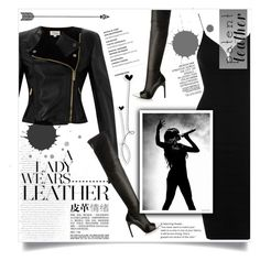 """Patent Leather"" by rochiigomez09 ❤ liked on Polyvore featuring Rare London, Temperley London, Givenchy, Leather, Trendy and patentleather"