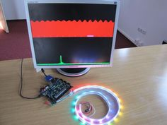 Turn your background audio into a variety of visual spectrums with the Nexys 4 DDR and a 30 color LED strip.