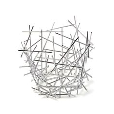 Alessi Blow Up Citrus Basket by Fratelli Campana, 2004 by All Modern Design Shop, Design Design, Interior Design, Fruit Bowls, Spaghetti Eis Dessert, Large Baskets, Modern Baskets, Contemporary Baskets, Shopping