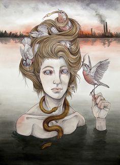 The Last Gorgon - Caitlin Hackett