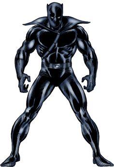 Black Panther Marvel   MARVEL PHOTOSHOP: BLACK PANTHER del Official Handbook of the Marvel ...