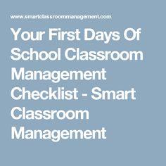 Science curriculum non district educators springdale public your first days of school classroom management checklist smart classroom management fandeluxe Images
