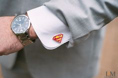 #groom #groomclothes #cufflinks #leahandmark.com Photo from Aerial + Peter collection by LeahAndMark & Co.