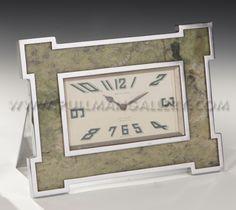 Art Deco clock by Mappin & Webb, c. 1925