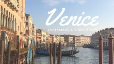 A tried and tested Venice itinerary with stops recommended by locals. Follow this guide to make the most of one, two or three days in Venice, Italy. There is no better way to discover Venice than allowing yourself to get lost in its charming labyrinth of streets and waterways. However, a Venice itinerary can come …