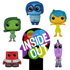 Inside out set Disney Funko POP! Vinyl