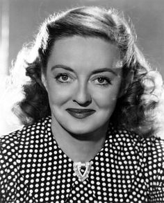Bette Davis~~~AFI #2 female screen legend