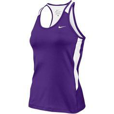 Women'S Nike Tanks Purple | Eastbay.com (295 ZAR) ❤ liked on Polyvore featuring nike