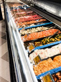 Easily a staple of any local grocery store is their poke counter. Oahu Beaches, Grocery Store, Counter