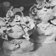 Claire Paveley ceramic art girls