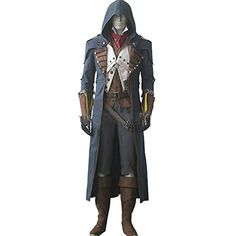Tasso Assassin's Creed 5 Arno Victor Dorian Kleidung Outfit Kostüme Cosplay Costume ach Maß
