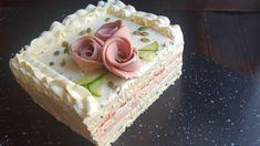 МУЖСКОЙ закусочный ТОРТ🍔SANDWICH cake recipe Russian Recipes, Vanilla Cake, Buffet, Healthy Recipes, Desserts, Youtube, Salads, Food, Decoration