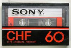 SONY/CHF/パッケージ(プラケース) Sony Design, Speaker Design, Casette Tapes, Vhs Tapes, Sony Electronics, Hi Fi System, Time Capsule, Audio Equipment, Vintage Ads