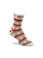 Fox River Monkey Stripe Socks, Made in USA