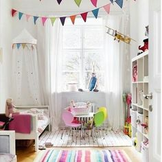 Mais um quarto fofo que nem precisa de bolo pra inspirar festa #ideias #inspiracao #inspiracaododia#mogemugfestas #mogemucursos #cursomogemug #cumpleaños #cumpleanos #fiestasinfantiles #cristianaprado ↪@kardashiankids
