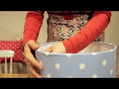 VIDEO: Cath Kidston gets shady with lampshade making in store. #craft #DIY #CathKidston