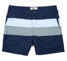 Express your style in our cool men's swim shorts, available in a great selection of looks and patterns. Men's Swimsuits, Bikinis, Mens Swim Shorts, Sport Shorts, Penguin Clothes, Boxer Pants, 4 Way Stretch Fabric, Swim Trunks, Stripe Print