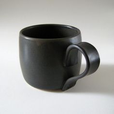 Coffee Mug by Jude Allman,  I like the clean, simple modern handle  aw