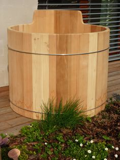 ofuro 3 Patio, Texture, Wood, Crafts, Madeira, Yard, Terrace, Woodwind Instrument, Surface Finish