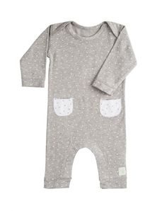 Pijama llarg 'mini stella gris'