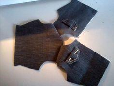Eu costuro , você costura: PAP de Tilda de jaqueta jeans - PARTE 2 - A JAQUETA!