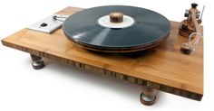 Pebbles TA-1 Turntable     24 Pole Synchronous AC Motor     33.3 & 45 rpm     Belt Drive     Bamboo Platter     Levelling Legs     Accommodates Bam Bam and Pebbles 9″ Tone Arms