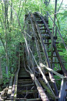 Chippewa Lake Park reclaimed by nature - Chippewa Lake Park in Medina County, Ohio. Closed in 1978.