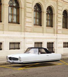 Air Drive – Les voitures volantes retro de Renaud Marion
