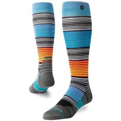 Get this new Stance Wolf Crossing Ski/Snow Socks Multi at Yakwax and have a FREE UK Delivery on ALL ORDERS and Experience our Excellent Customer Service! Ski Socks, Cool Socks, Nylons, Over The Calf Socks, Enjoy The Ride, Stance Socks, Mens Crosses, Boys Underwear, Baby Socks