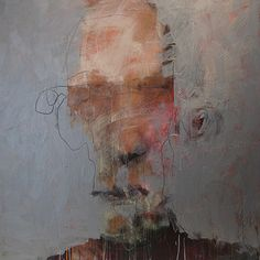 Epiplectic Pencil - mukashikaranokoe: (via Catherine Woskow : Recent. Abstract Faces, Abstract Portrait, Portrait Art, Portraits, Figure Painting, Painting & Drawing, Face Art, Contemporary Paintings, Figurative Art