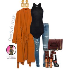 A fashion look from September 2015 by stylebydnicole featuring Rick Owens, Zara, Yves Saint Laurent, Tom Ford and Ben-Amun Mode Chic, Mode Style, Mode Outfits, Fashion Outfits, Womens Fashion, Emo Fashion, Estilo Fashion, Ideias Fashion, Classy Outfits